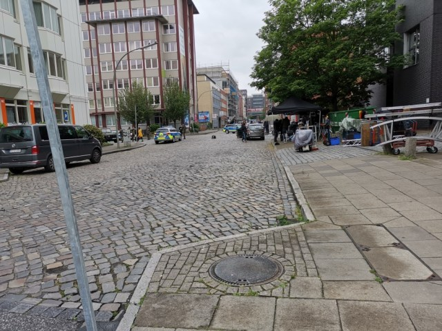 Hamburg Filmdreh