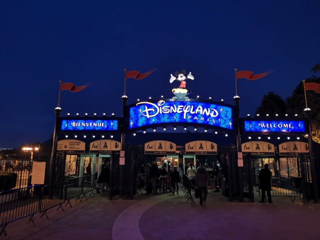 Disney Eingangsbereich