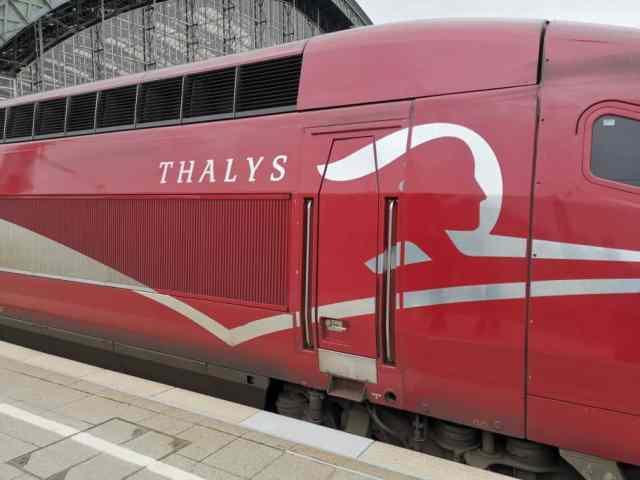 Thalys Logo Lok