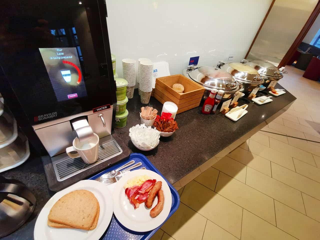Holiday Inn Express Frühstück