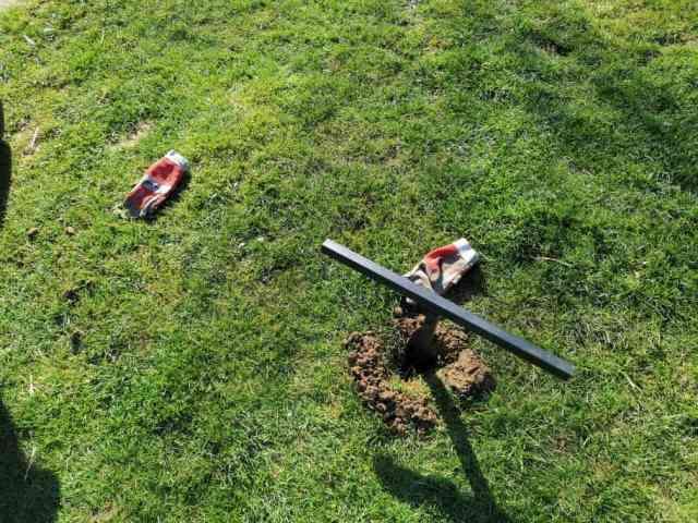 Turnreck im Garten