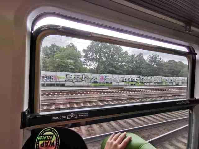Fenster im Flixtrain