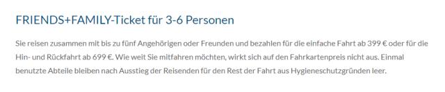 Alpen-Sylt Nachtexpress Family Ticket