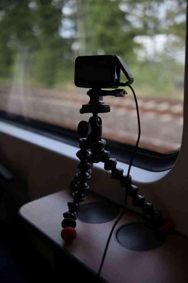 GoPro on GorillaPod