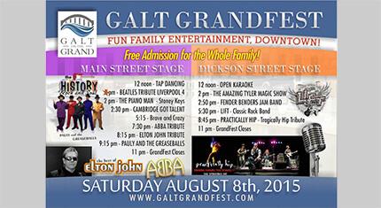 Galt Grandfest 2015