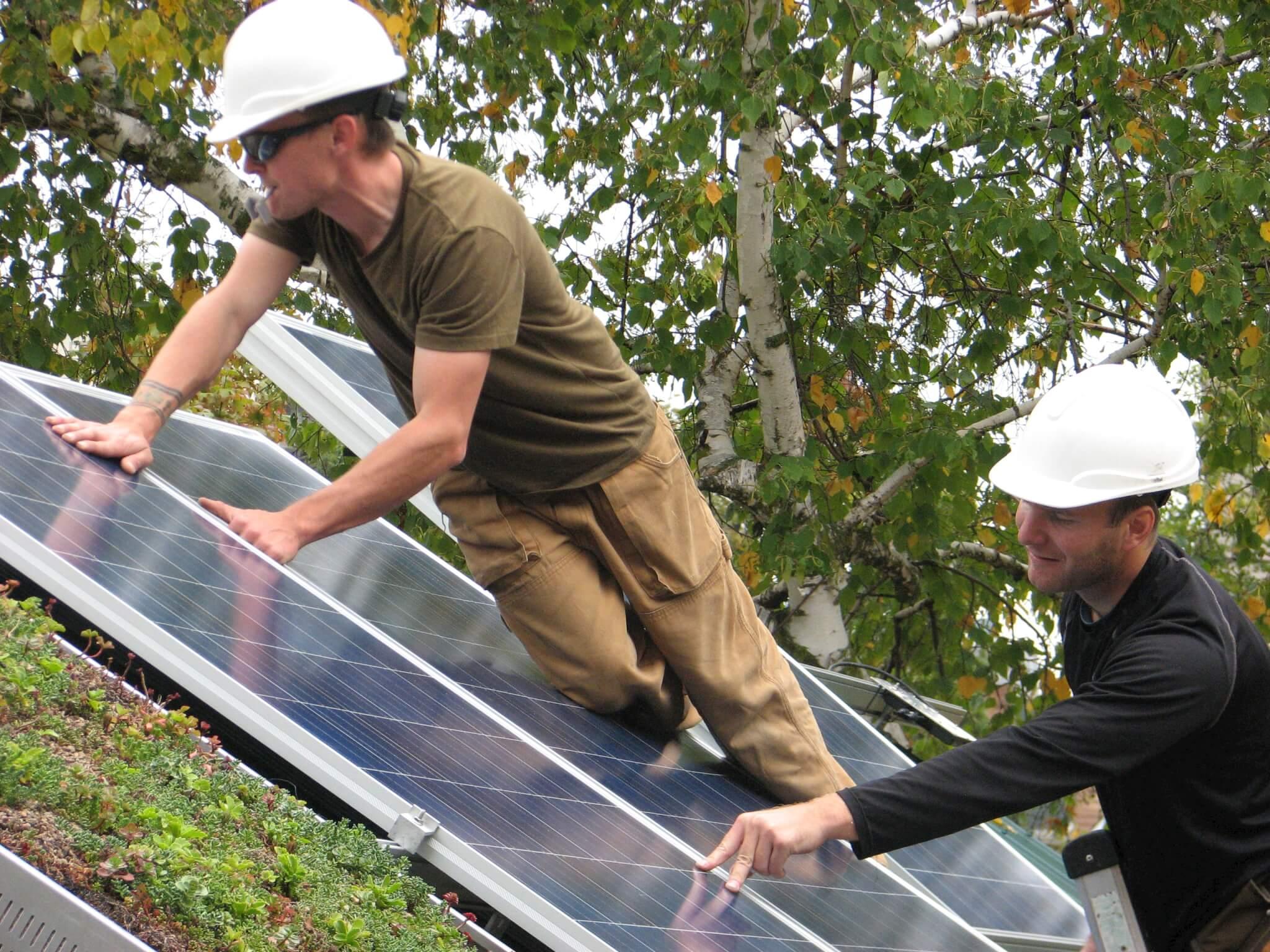 solar at REEP House