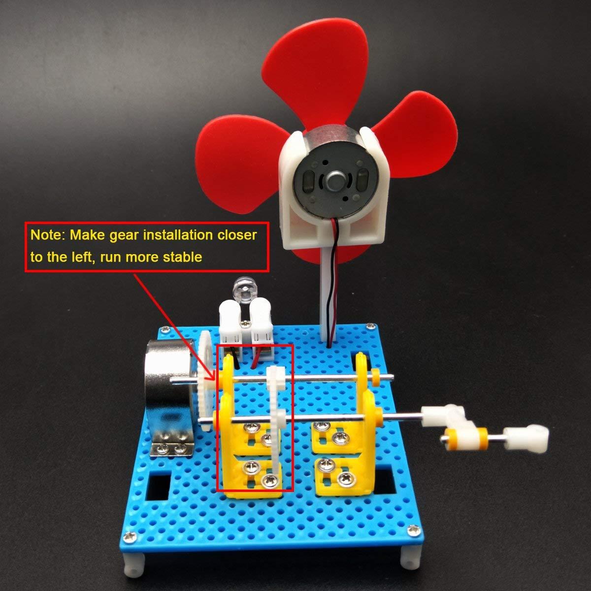Dynamo Lantern Educational Stem Building Toy Hand Cranked