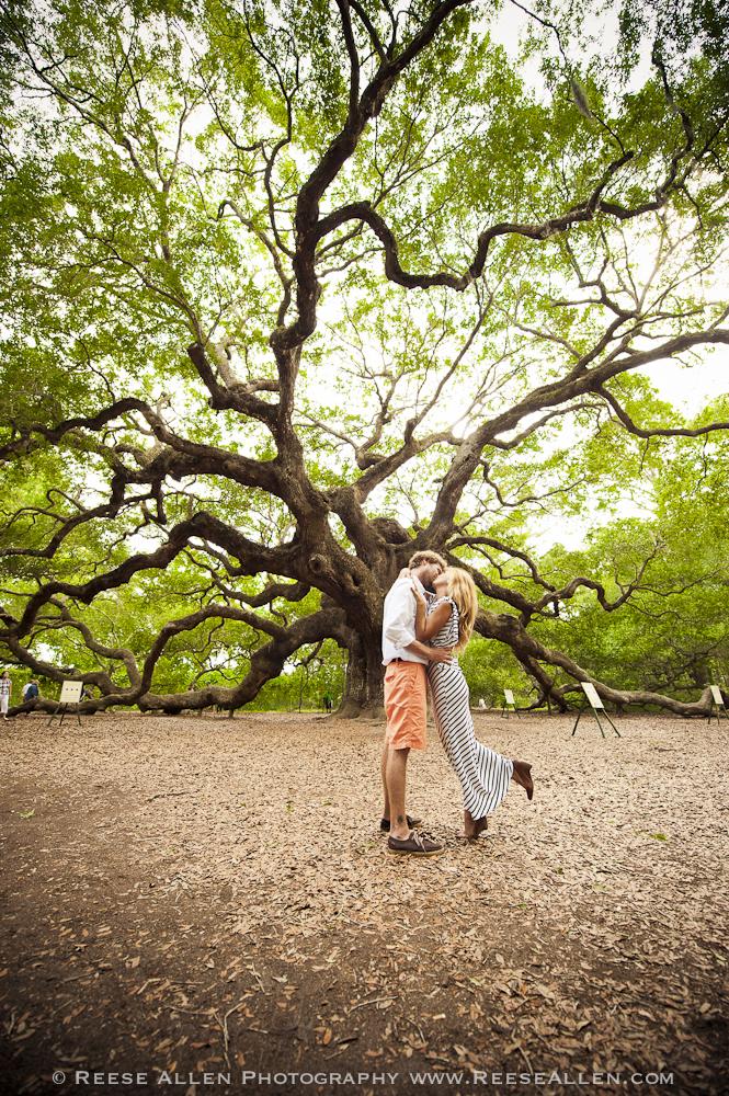 Engagement Session Du JourDowntown Charleston and Angel Oak Tree Reese Allen Photography Blog