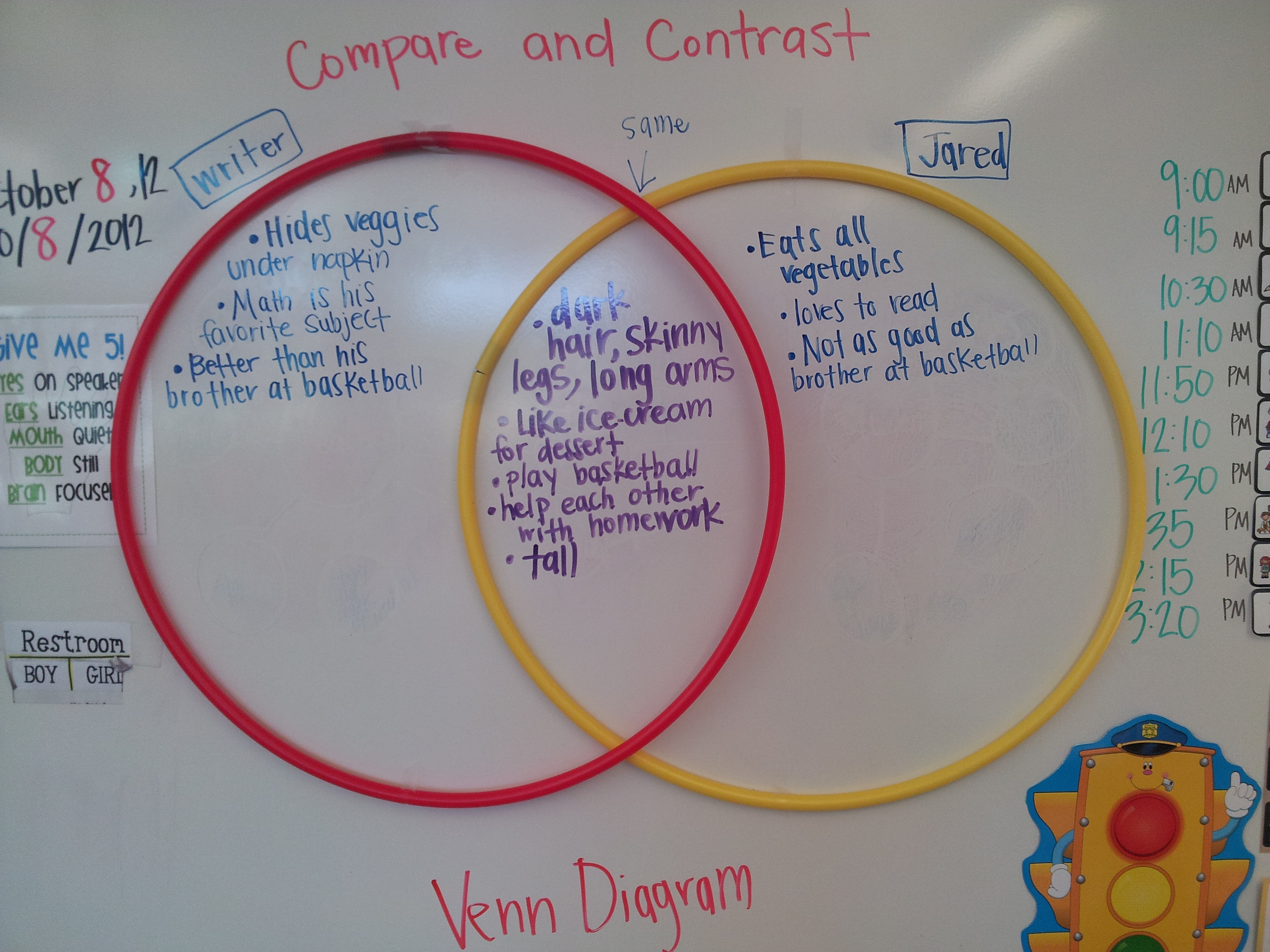 compare and contrast using venn diagram lion skeleton mrs reeves 39 2nd grade our classroom happenings