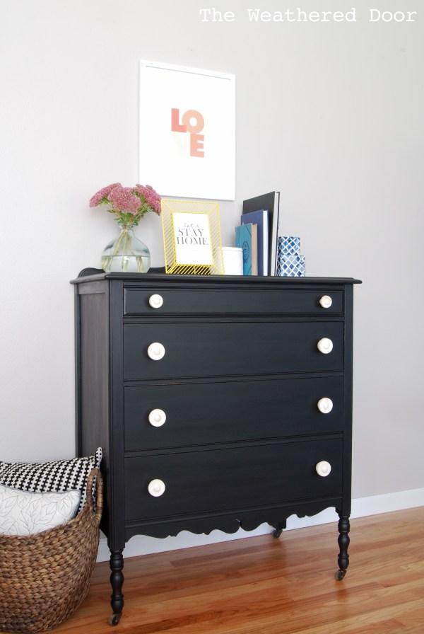 Black Milk Painted Furniture