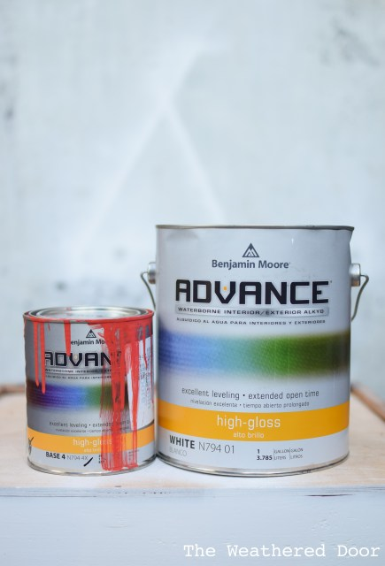 Benjamin Moore Advance Waterborne Alkyd Paint Review- pros and cons WD-7