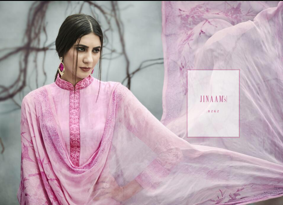 cb2b9620e4 JINAAM DRESS MARVELOUS 8261-8269 SERIES INDIAN PRINTED SUITS WHOLESALE SHOP