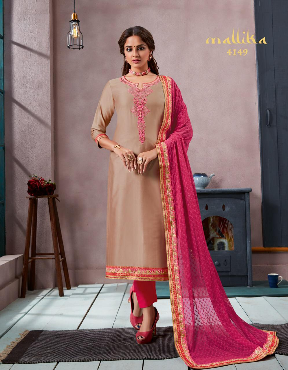 fc8b79dc60 KESSI MALLIKA JAM SILK SUITS WHOLESALE WOMEN SHOP IN SURAT MARKET ...