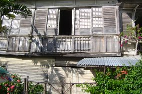One of the ancestral houses near my grandparents' place.