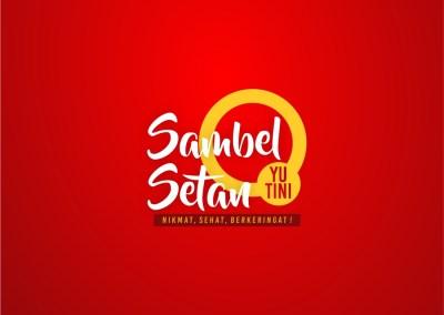 Logo & Branding Sambel Setan Yu Tini