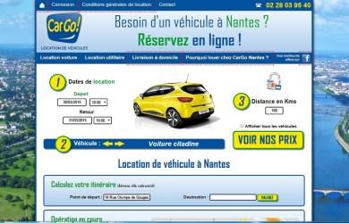 Cargo Nantes: Location de véhicules