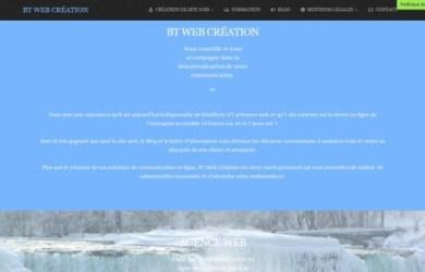 btweb.fr est le site de BT Web Création, agence web ardennaise.