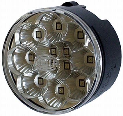 PLAFON 24V LED ROJO 60MM