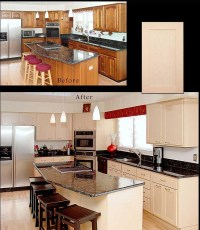 Reface-Cabinets-Before-And-After | Reno-NV | Refaced ...