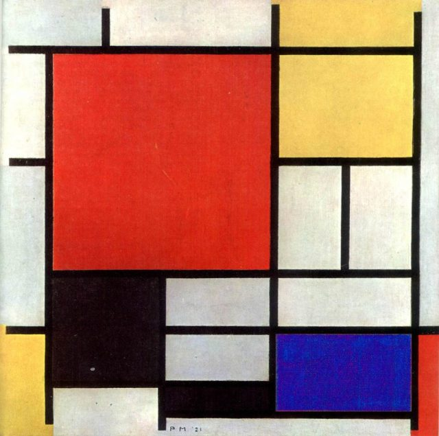 Composition-with-red-yellow-blue-and-black