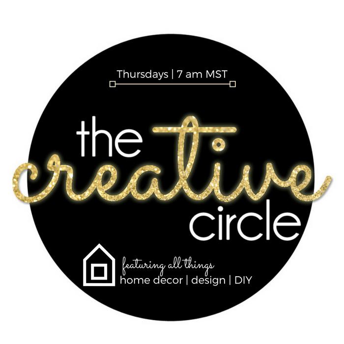 The Creative Circle - www.refashionablylate.com