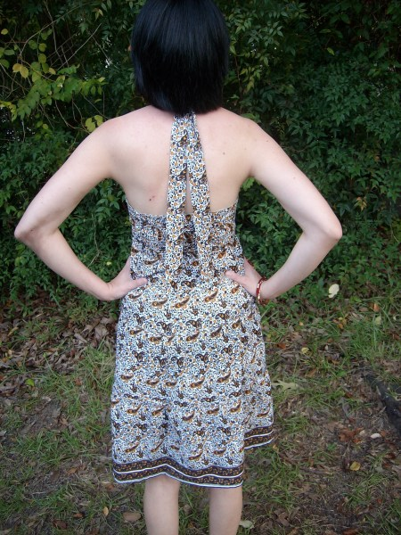 Day 28:  Pretty in Paisley Dress 7