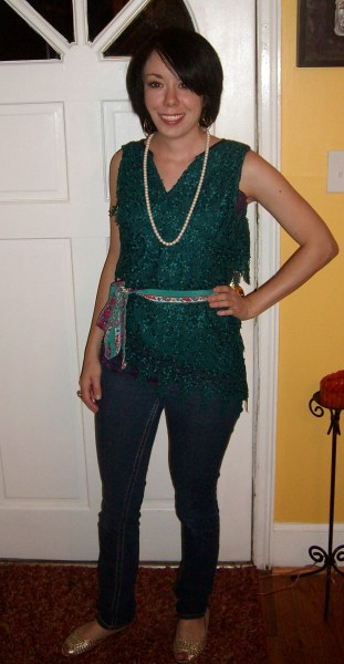 Day 23:  Layers o' Lace Top 9