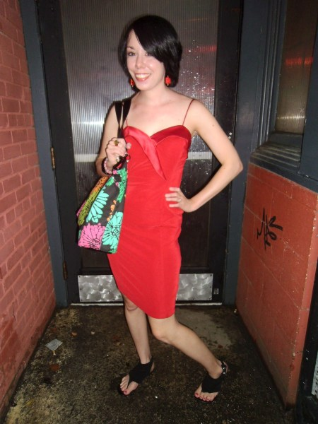 Day 37:  Lady in Red Dress 8