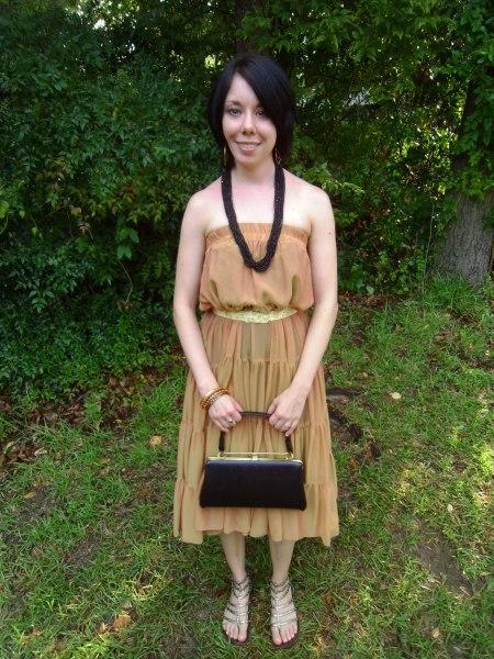 Day 52:  Corn Goddess Dress/ A Challenging Challenge 5