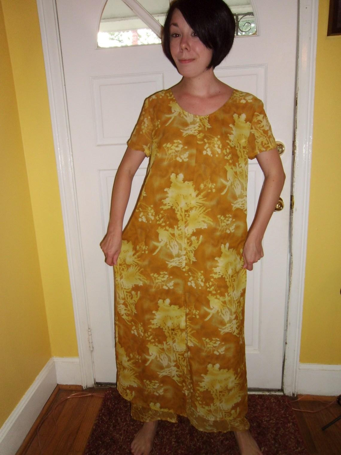 Day 64: Marigold Dress & The Nana Giveaway Winner! 1