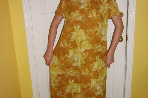 Day 64: Marigold Dress & The Nana Giveaway Winner! 8