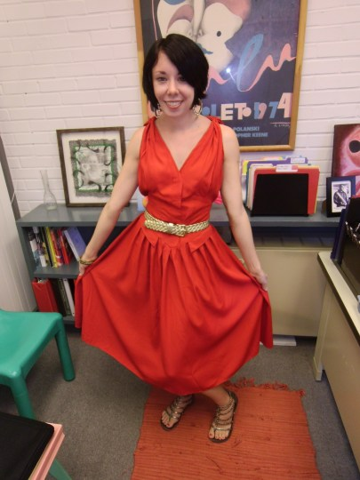 Day 69:  Meet Me in the Piazza Dress 10