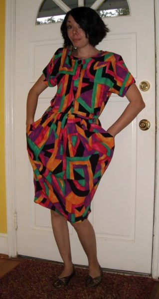 Day 120:  Picasso Dress 2