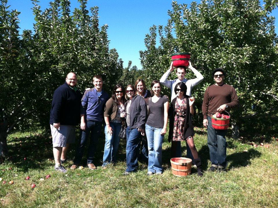 Day 95:  Apple Orchard Frumpy Collared Dress Refashion 9