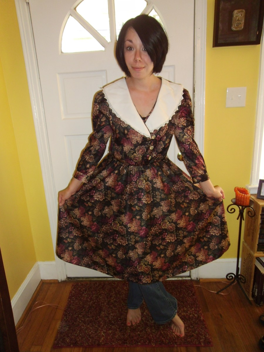 Day 95:  Apple Orchard Dress