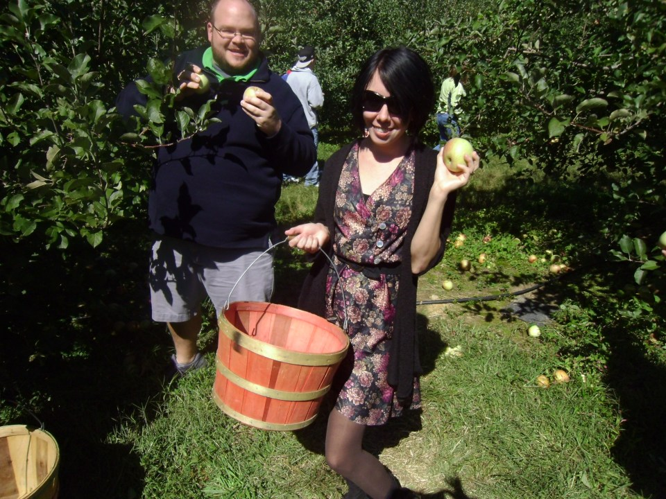 Day 95:  Apple Orchard Frumpy Collared Dress Refashion 7