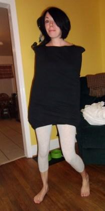 Day 126:  Plastic Letters Dress 5