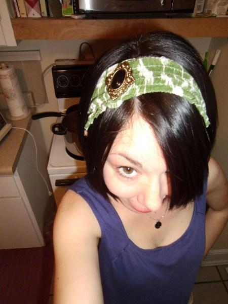 Day 136: Scrap Busting Headband 7