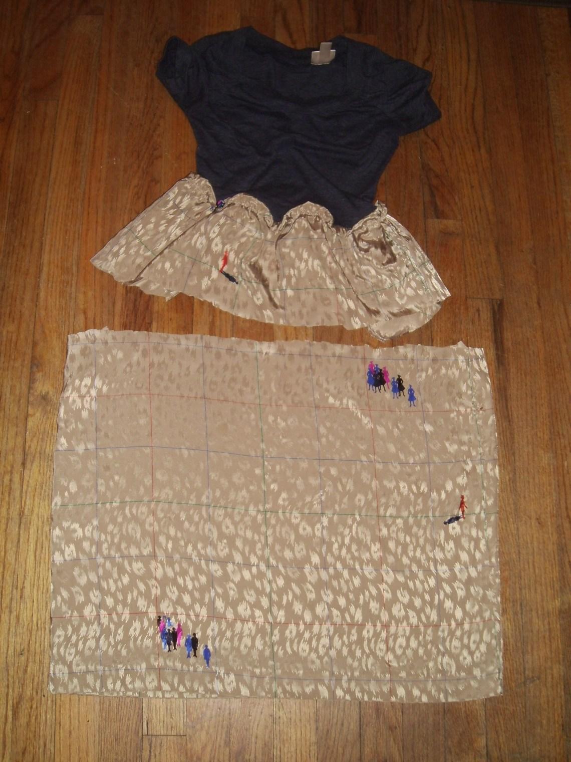 Day 146:  Fixing a Fail Skirt 1