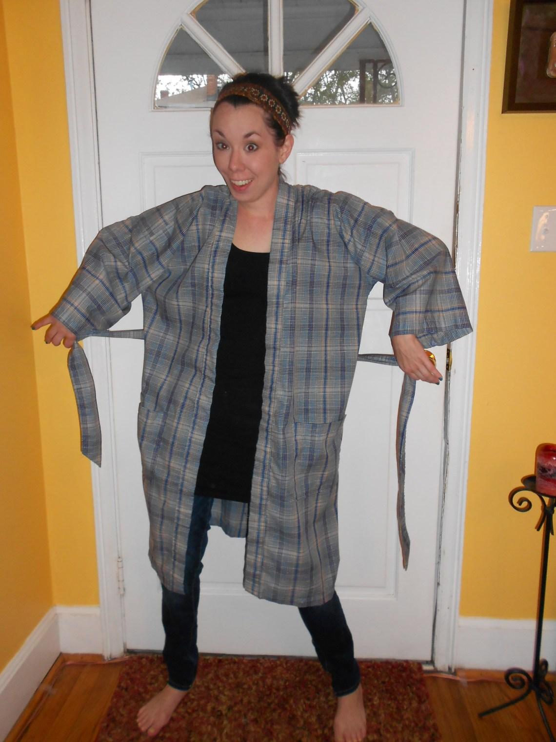 Day 227: Kimono Jacket 1