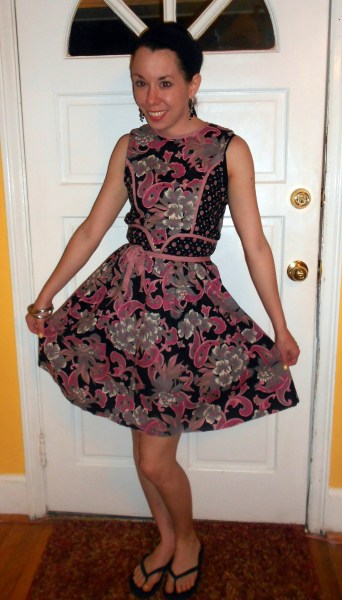 Day 258:  Ashes of Roses Dress 6