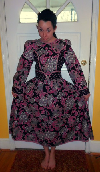 Day 258:  Ashes of Roses Dress 2