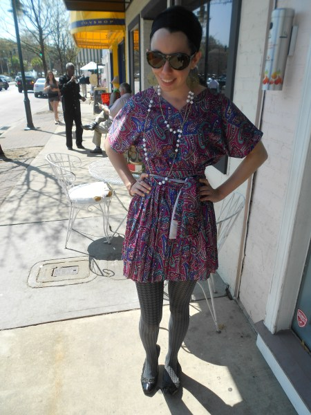 Day 257:  Paisley Park Dress 5