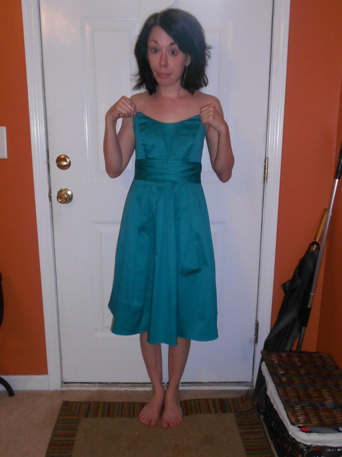 Day 272:  Never a Bride Dress 1