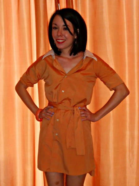 Day 301: Tangerine Dream Dress 8