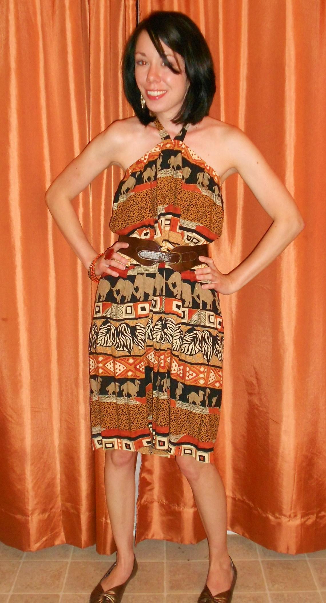 Day 281:  EleFun Dress 1