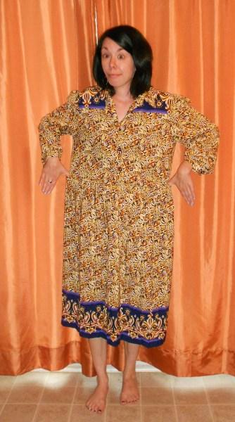 Day 292: Marigold Dress 2