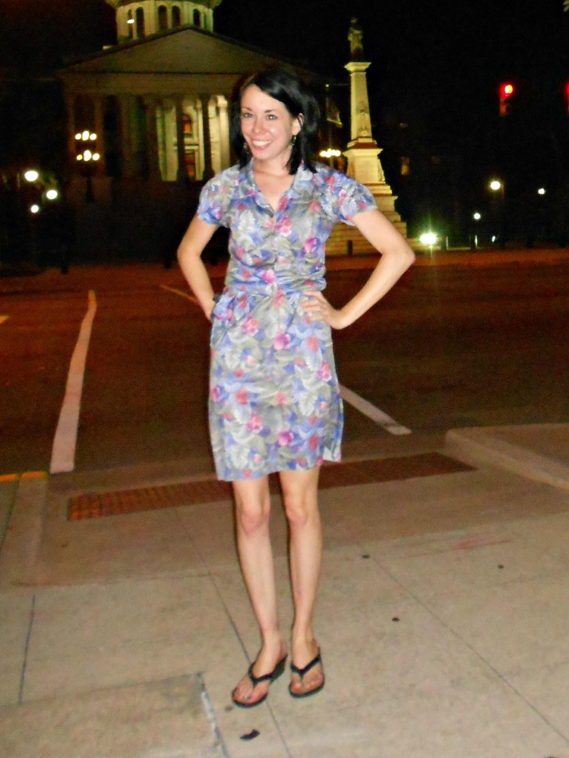Day 327:  Main Street Dress 1