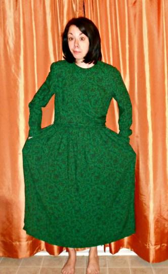 Day 326:  Grecian Bubble Dress 2