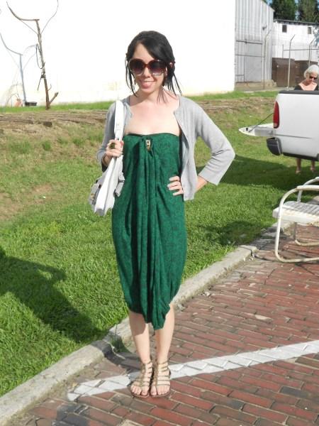 Day 326:  Grecian Bubble Dress 10